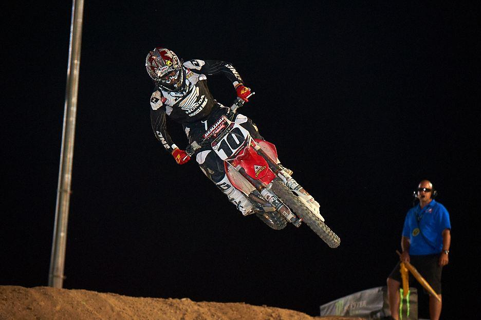 Justin Brayton - team Honda - 2012