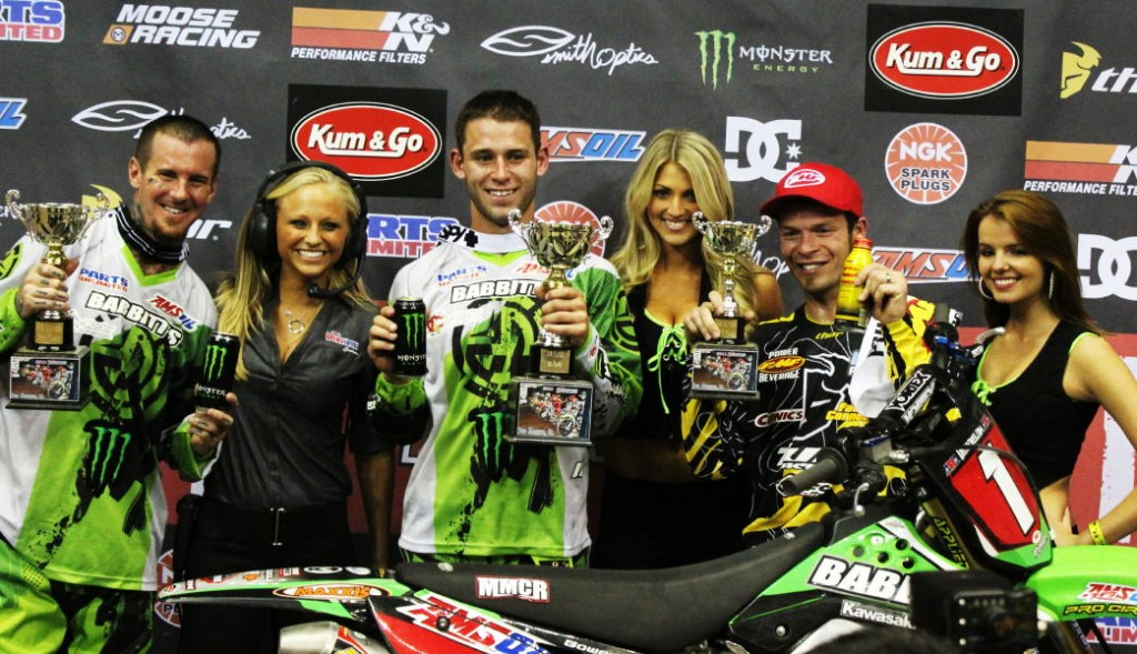 Bowers Brings Momentum into round two of AMA Arenacross Series