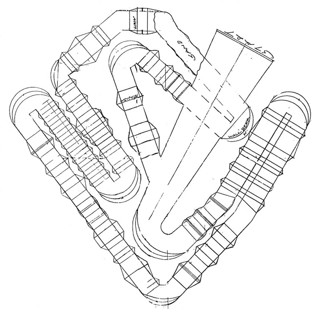 Phoenix  - Supercross - ama - 2012 - Track map