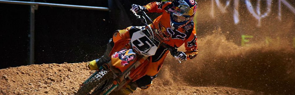 Ryan Dungey - KTM - James Stewart - JGRMX - AMA Supercross - 2012