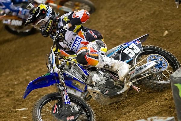 Ryan Sipes - Supercross - Phoenix - 2012