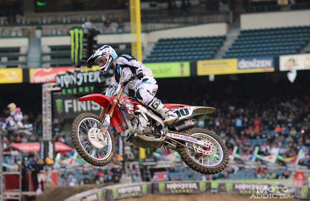 Justin Brayton - Anaheim 1 - Supercross