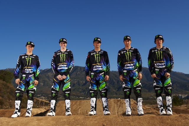 Monster Energy-Pro Circuit-Kawasaki Riders to Debut New Thor Gear At A1
