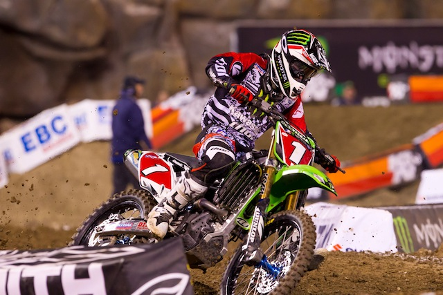 Thor's Villopoto Stands Out At Supercross Season Opener