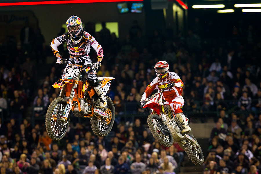 Marvin Musquin - Eli Tomac - Supercross - 2012