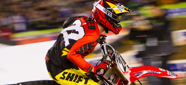 Chad Reed - Dallas - Supercross - Injured