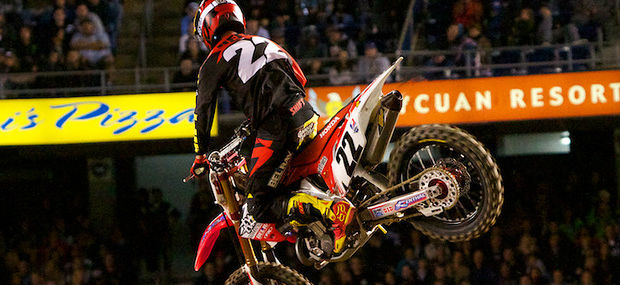 Chad Reed - Injured - 2012 - supercross