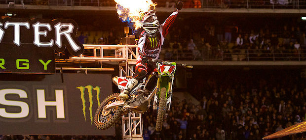 Ryan Villopoto - Supercross - 2012 - motocross