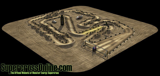 2012 New Orleans SX – Pre Entry List – Schedule – Track map