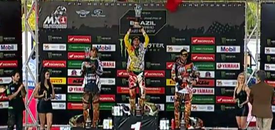 MXGP of Brazil 2012 Race Highlights