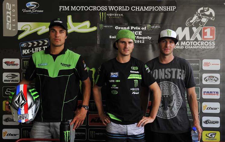 Kawasaki Tops MXGP Of France Qualifying