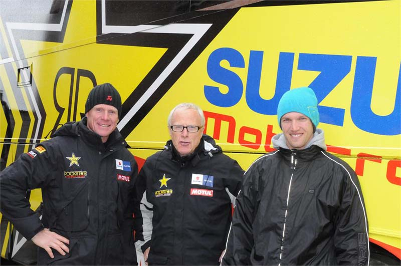 Strijbos and Smets Join Rockstar Suzuki for 2013