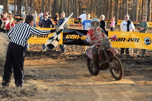 Mullins Wins Amsoil Ironman GNCC
