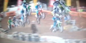 Ouch! Billy Mackenzie's crash at Phillip Island SX