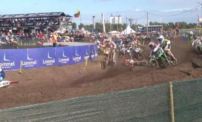Arnaud Tonus Crash Video MXoN – Injury Update