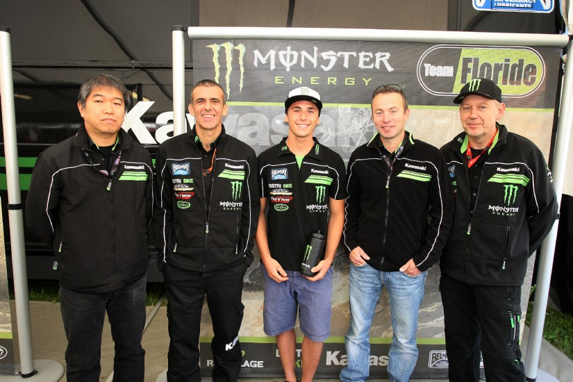 Tonus and Lupino sign with CLS Pro Circuit Kawasaki