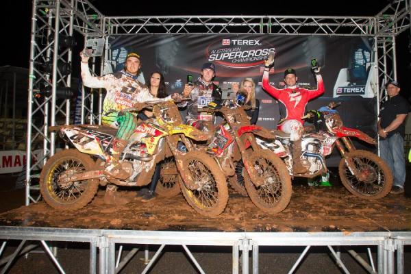 Chad Reed Wins The Muddy Toowoomba Supercross