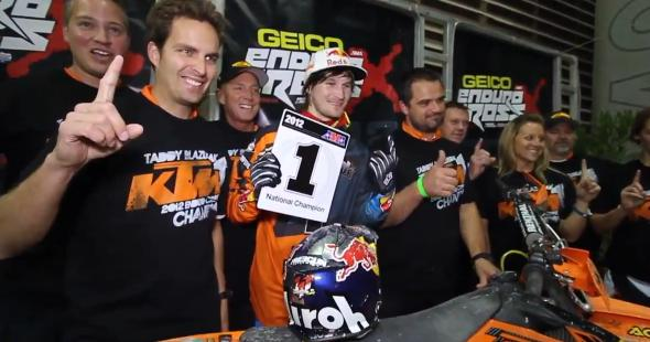 Taddy Blazusiak – Behind The Scenes 2012 Endurocross Championship