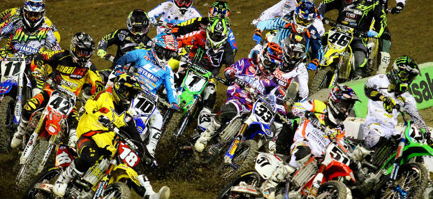 Oakland Supercross Races Results 2013