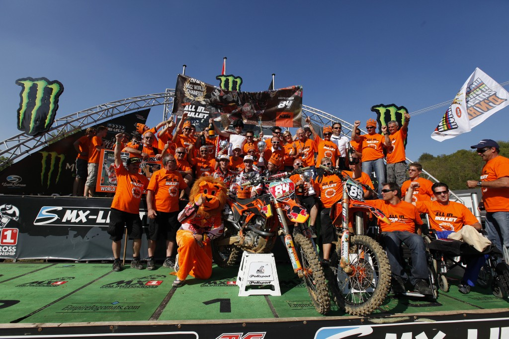 Red Bull KTM Ready for MXGP Opener in Qatar