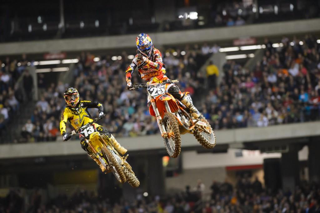 Musquin Scores a Podium at Atlanta Supercross