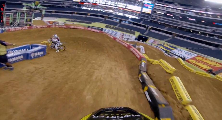 GoPro HD: 2013 Dallas SX – Qualifying Laps