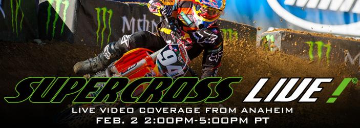 Anaheim 3 SX Practice Live Stream – Watch Live Here