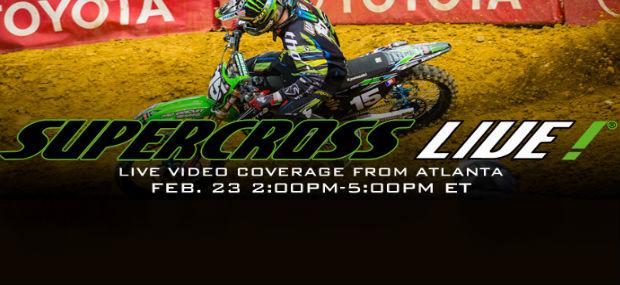 Atlanta SX Qualifying Live Stream – Watch Live Here