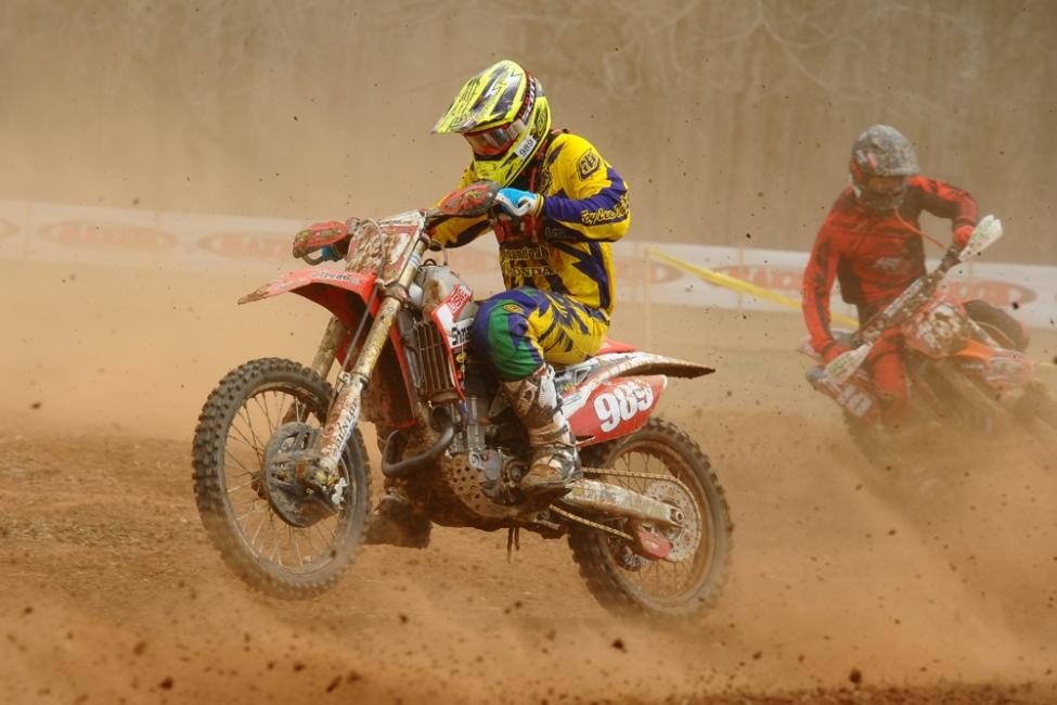 DuVall and Bach put in solid rides to take third and fifth respectively Photo: Ken Hill /GNCC