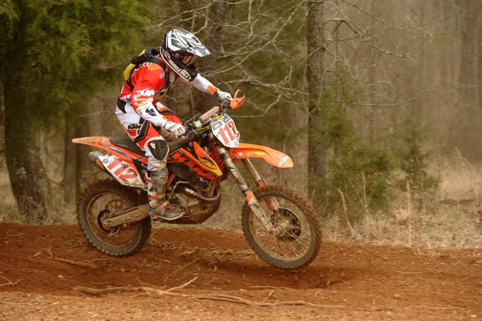 Mullins is now tied with his teammate for the XC1 points lead Photo: Ken Hill / GNCC