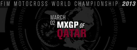Watch & Follow 2013 MXGP of Qatar Online