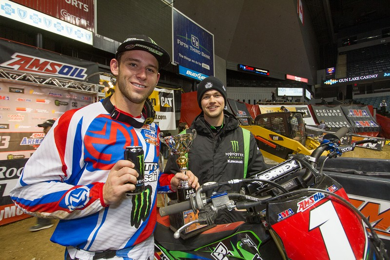Bowers to fill in for injured Hill for Monster/PC/Kawasaki ?