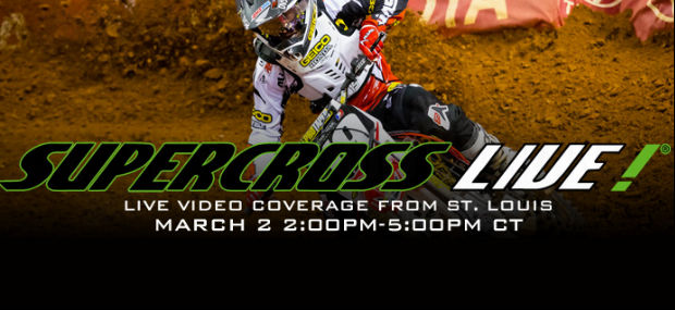 St Louis SX Qualifying Live Stream – Watch Live Here