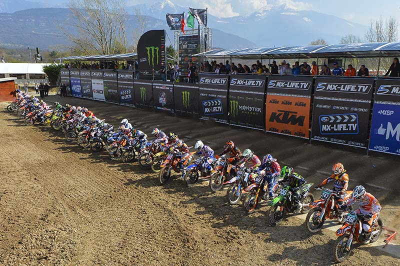 Tixier & De Dyker Top Qualifiers at MXGP of Trentino (Italy)