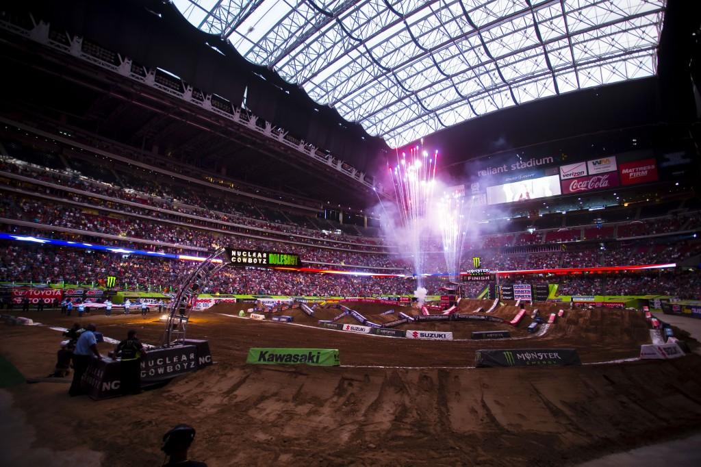 2013 Houston Supercross Notes & Stats