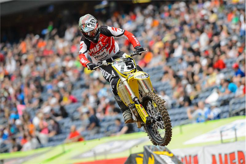 Josh Hill grabs his first top-10 for RCH Racing in Houston