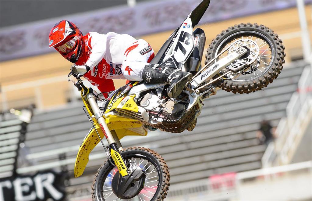 Josh Hill scores seasons best finish at Salt Lake City SX