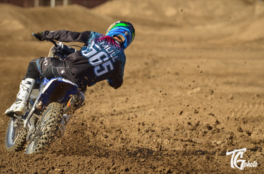 Preston Mull will ride the new YZ250F for Slaton Racing - Photo by: Todd Gutierrez