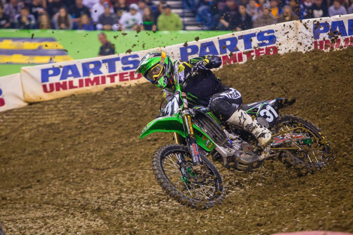 Martin Davalos crashed but scored solid points - Photo by: Hoppenwrld
