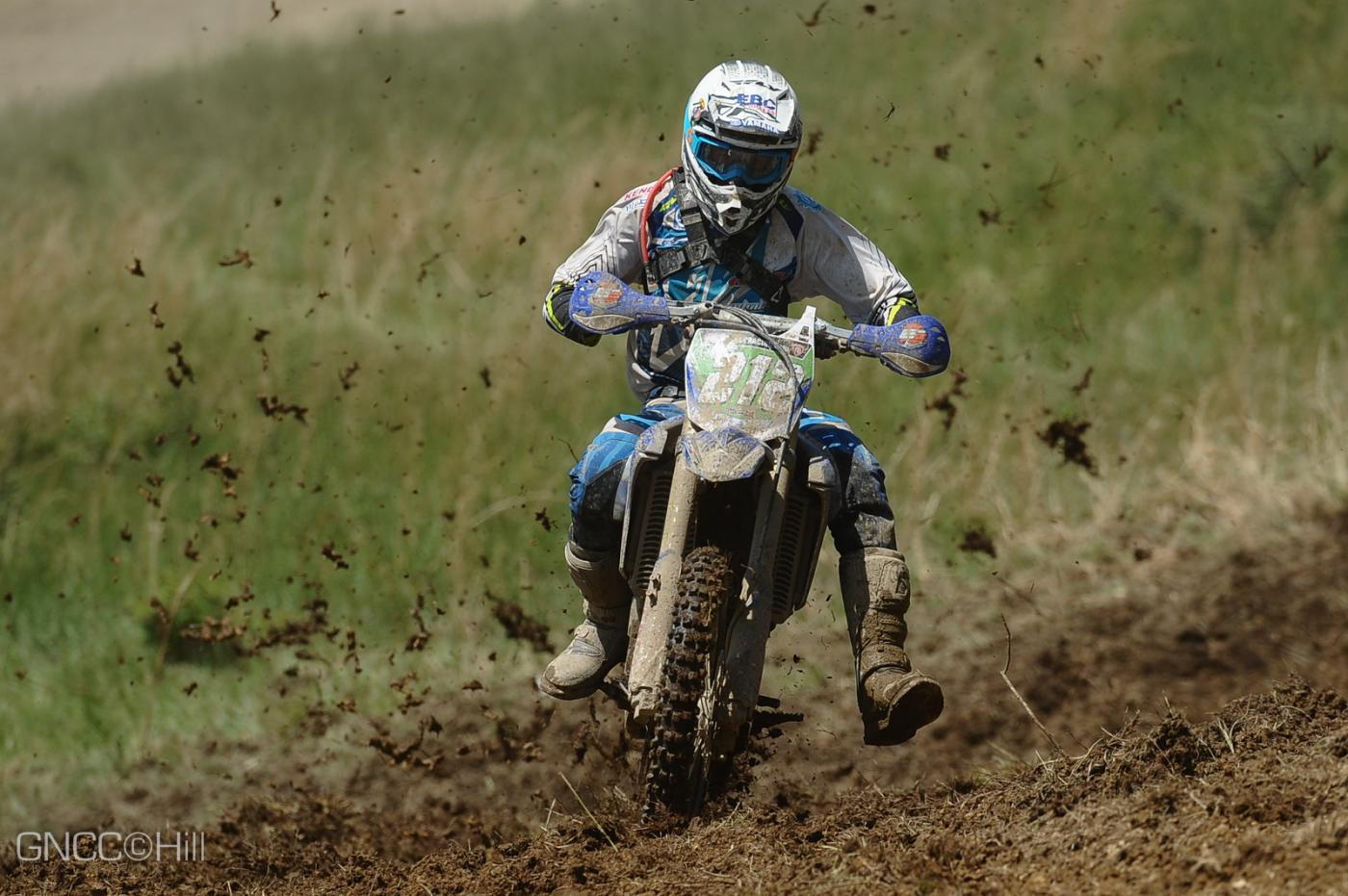 Ricky Russell now holds the points lead in the XC2 Pro Lites Class Photo: Hill