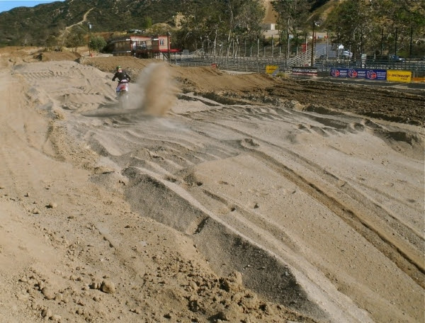 The deep sand should add a whole new element to the Glen Helen circuit. Photo by: Courtesy Motocross Action Magazine