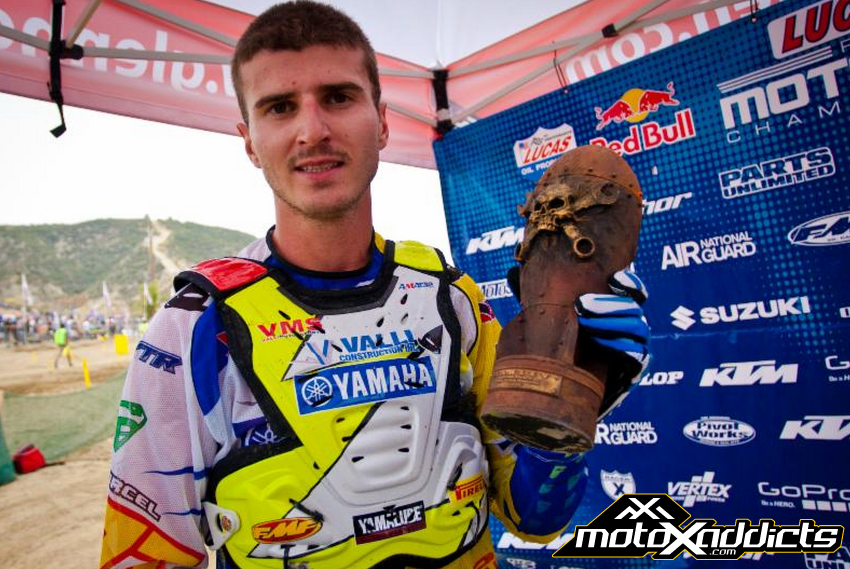 Pourcel is accumulating quite a few of these Oakley Bomb Awards.Photo: Courtesy of MXSports
