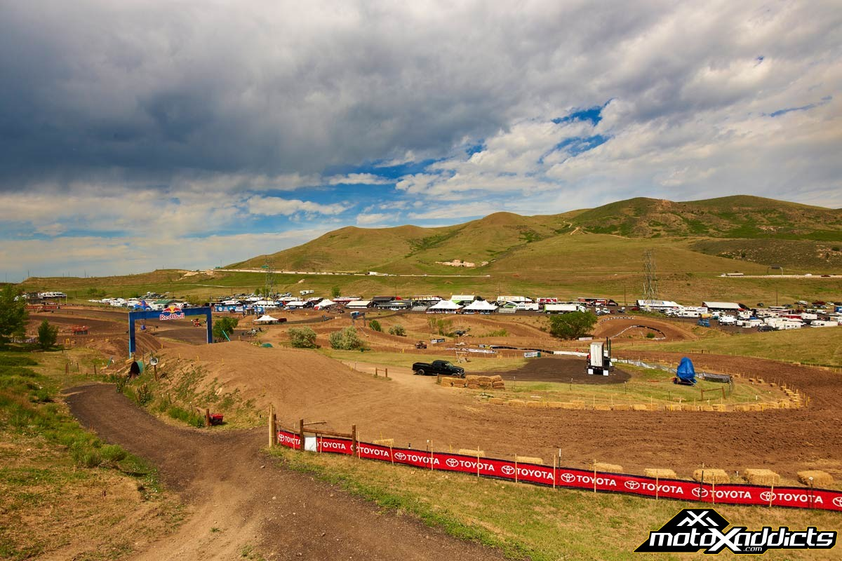 The Thunder Valley facility is a perfect facility for viewing world class motocross. Photo by: Hoppenworld