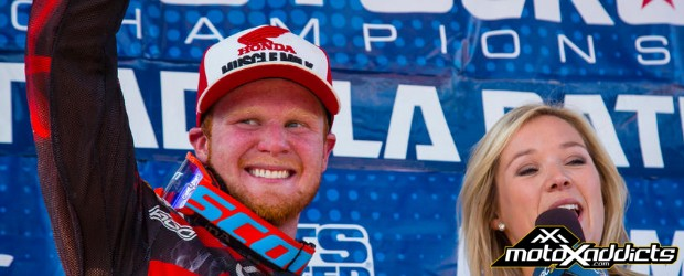 Trey talks about moto win, set-up changes and more