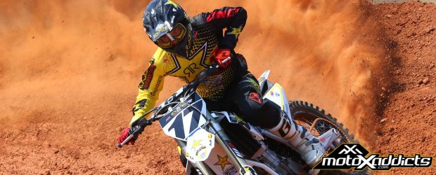 A good look at Anderson & his 2015 Factory Husqvarna 450