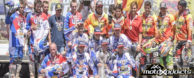 USA finishes second & first, France wins World Trophy