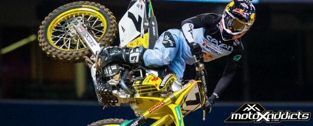 James is possibly looking at suspension in SX