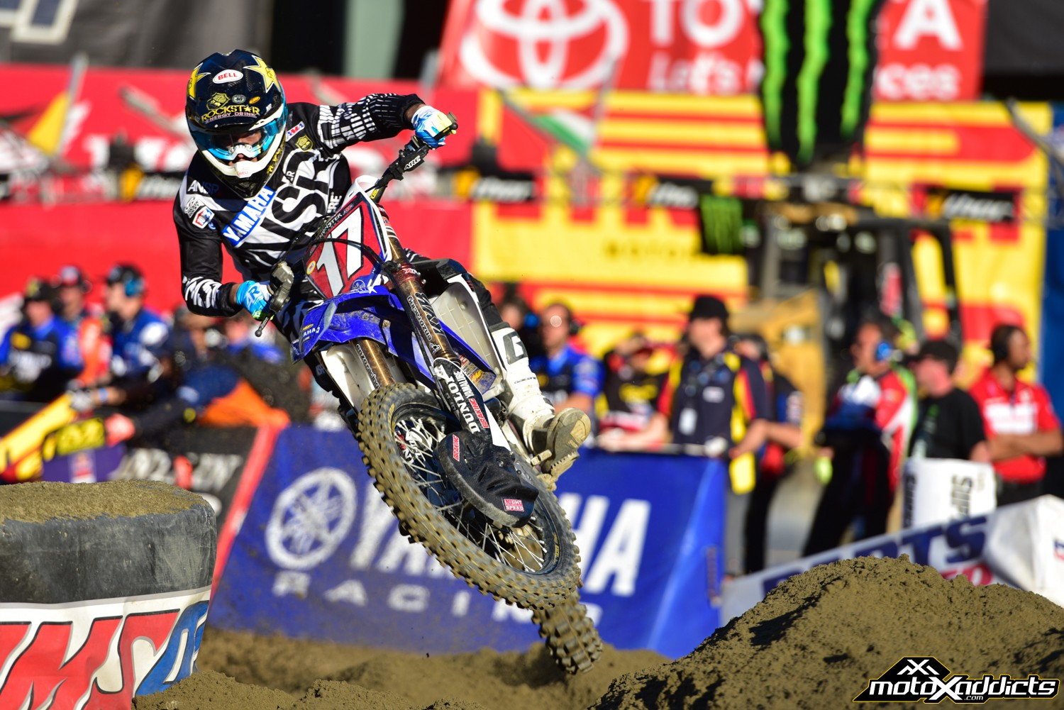 Cooper brings an eight point lead to Anaheim 3. Photo by: Todd Gutierrez