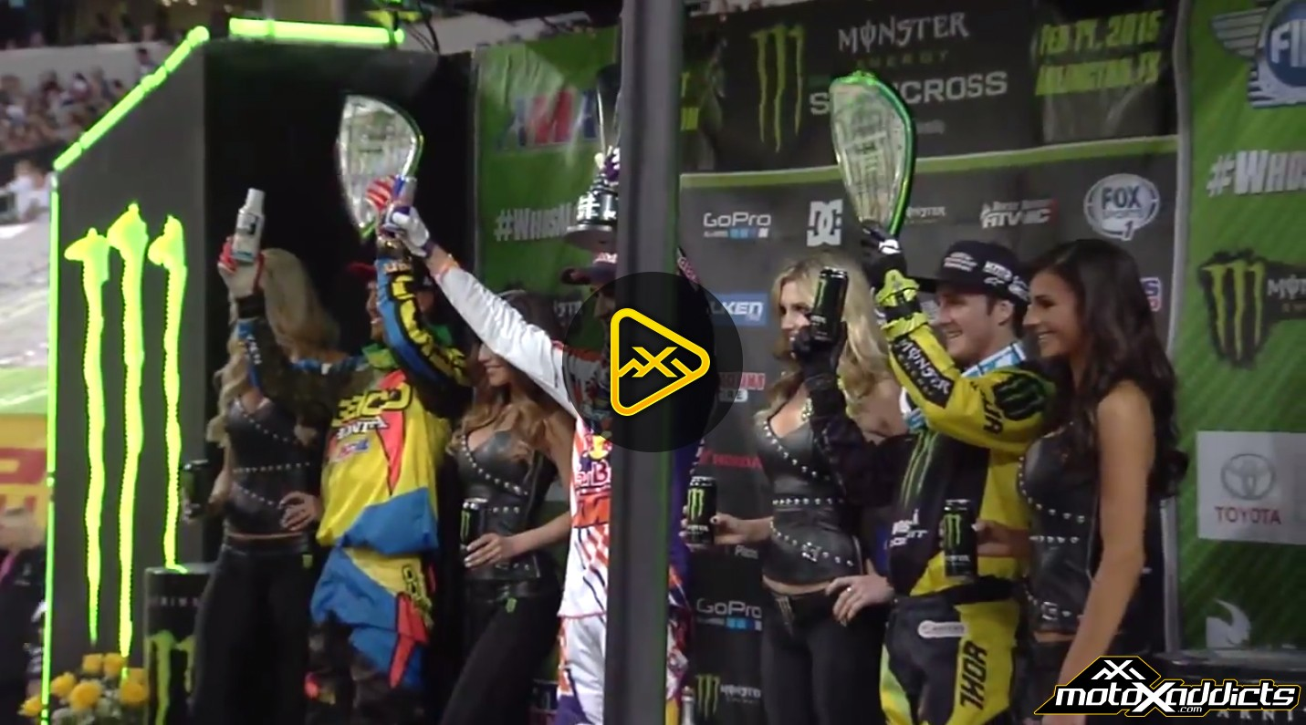 250SX Podium Interviews – 2015 Arlington (Dallas)  Supercross