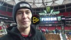 Suzuki Factory Racing's Blake Baggett and his team at the 8th round